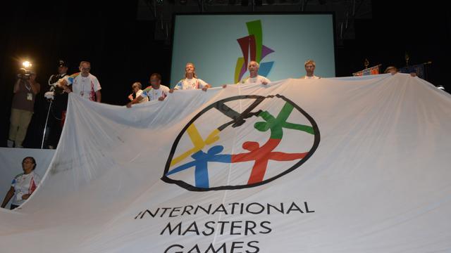 Новый флаг интернациональных игр ветеранов