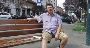 Итальянца выселили из квартиры теперь он решил жить на улице