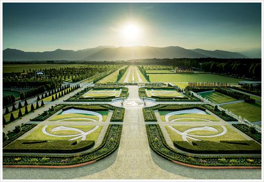 Королевский дворец и сад Venaria Reale