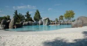 Пляж в биопарке Турин
