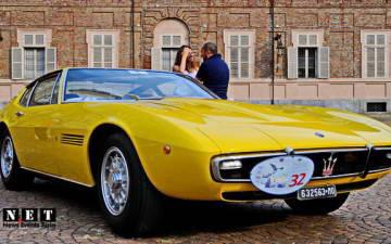 Италия Турин показ выставка старинных автомобилей