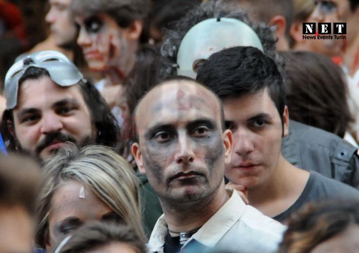 Важный парад зомби в турине