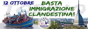 Lega Nord manifestazione Torino