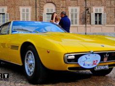 Итальянские ретро автомобили Конкурс элегантности в Турине