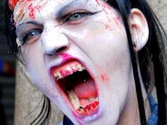 Парад Зомби в Турине 2013