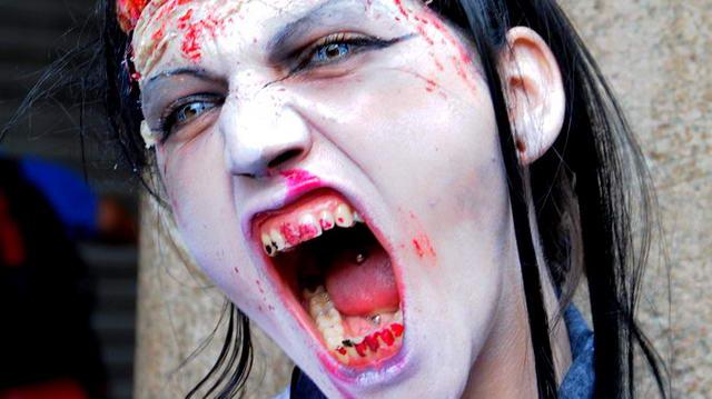 Шествие Зомби в Италии. Zombie Walk Turin Italy 2013 foto e video