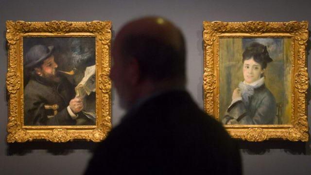 ВыставкаРенуара в Турине Галерея современного искусства