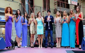 Sfilata di moda mercato Crocetta Torino