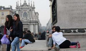 Стрит фото Италия Турин