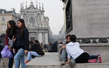 Уличная фотография Италия Турин
