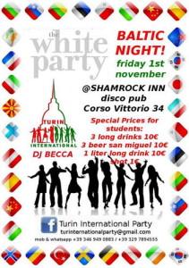 Дискотеки организуемые студентами Турина из разных постсоветских республик и не только События Турина ноябрь 2013 года