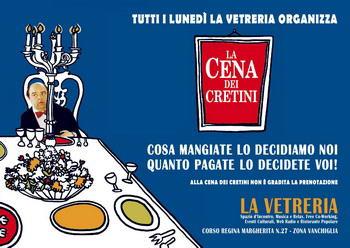 cena dei cretini torino События Турина ноябрь 2013 года