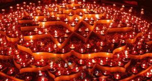 Фестиваль огня в Турине Diwali Torino