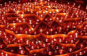 Праздник огня Дивали в Турине