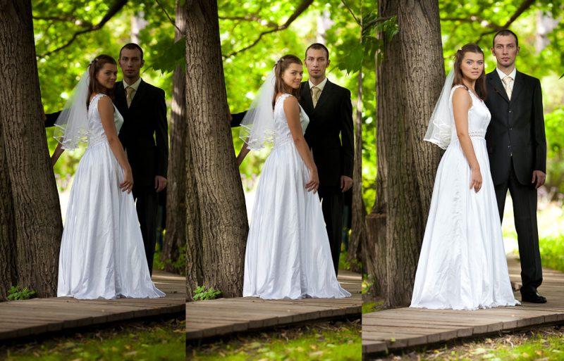 Свадебный фотограф в Италии фотошоп