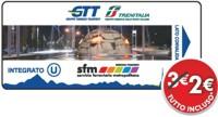 Билет за 2 евро Турин Билет общественный транспорт Турина