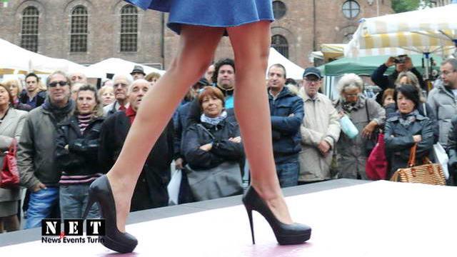 Итальянская мода на площади Crocetta в Турине смотреть фото