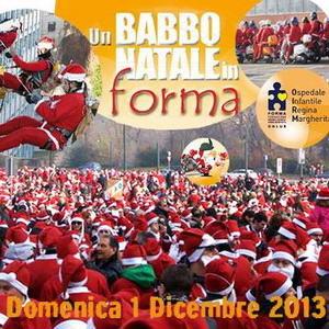 Babbo Natale Regina Margherita Torino