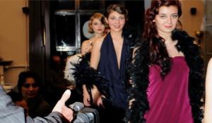 Элегантная ретро мода Италия Турин