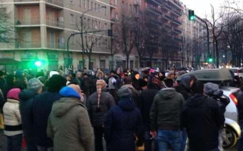 Заблокированы дороги в Италии 2013
