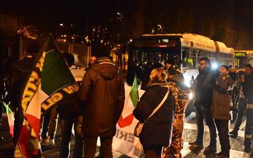 Массовая забастовка в Италии