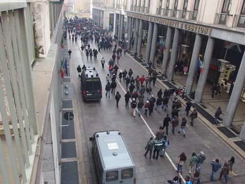 Полиция Турина побаивается манифестаций аграриев в Турине