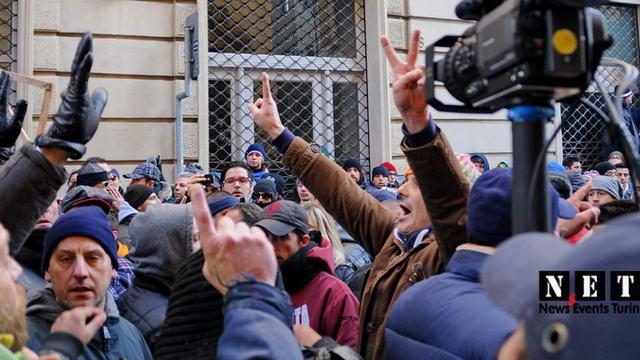 В ночь с 8 на 9 декабря были заблокированы автострады Турина