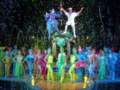 Новый водный цирк в Турине - Magnifico circo acquatico Torino