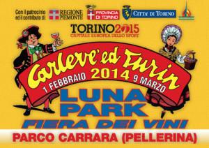 Карнавал в Турине 16 февраля 2014