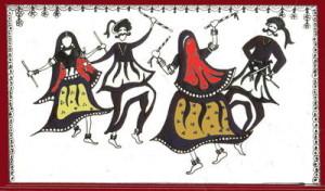 Индийские танцы в Турине