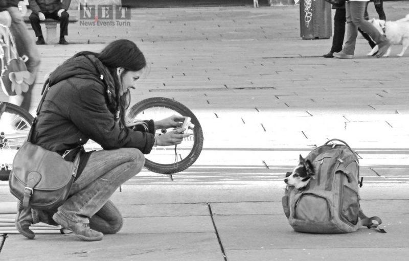 Уличная фотография Италия Турин События Турин январь 2014 года