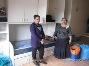 Новоселье цыган в Турине Италия