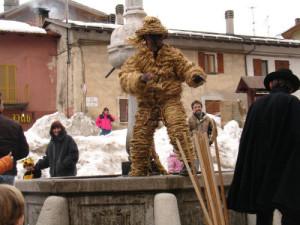 Персонажи итальянских карнавалов в Пьемонте