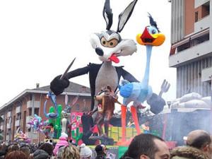 Карнавал в Венария Реале Турин Италия