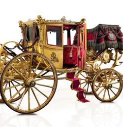 Показ королевских карет в Турине