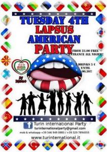 Интернациональные дискотеки в Турине