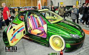 Международная выставка коллекционных ретро авто в турине Италия
