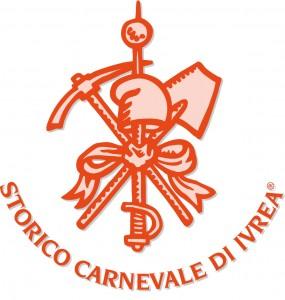 Логотип апельсинного карнавала в Италии