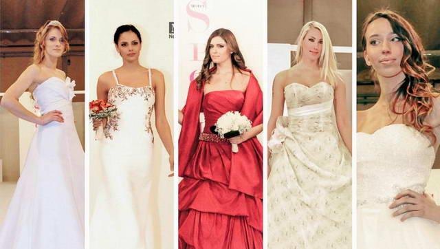 Итальянские свадебные платья 2014 на ярмарке в Турине