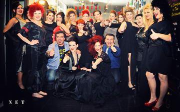 """Показ итальянской моды """"Bonheur"""" в Турине."""