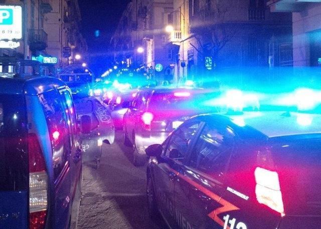 Полицейская облава в Турине против наркоторговли