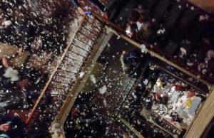 Мега тусовка студентов Турин - 500 человек в одном доме