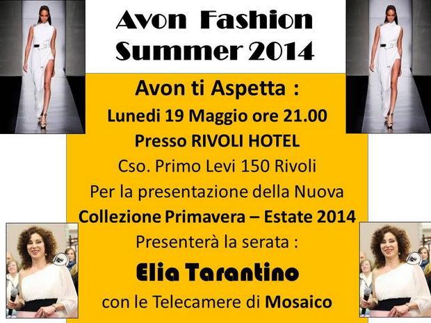 Avon показ мод Италия Турин 2014