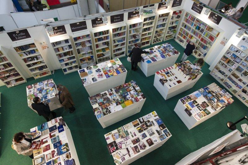 Интернациональный книжный салон в 2014 году Турин Турин май 2014 года