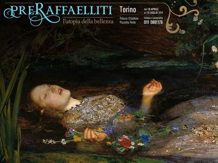 Художественная выставка Preraffaelliti в Турине Турин май 2014 года