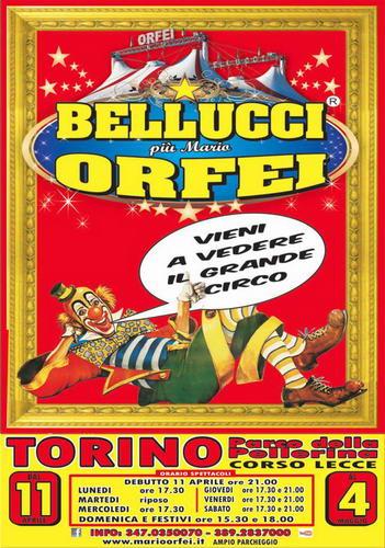 Итальянский цирк в Турине Турин май 2014 года