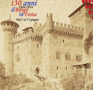 Средневековый замок в Турине
