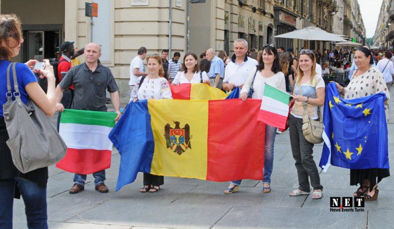 Acordul de Asociere Moldova cu UE - Italia Torino. NET Молдаване Турина подписание ассоциации с ЕС