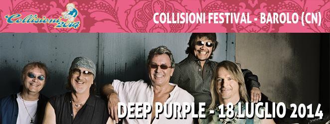 Знаменитая группа Deep Purple в Италии Турин Турин в июле 2014 года