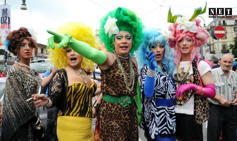 Gay Pride Torino 2014 Italia